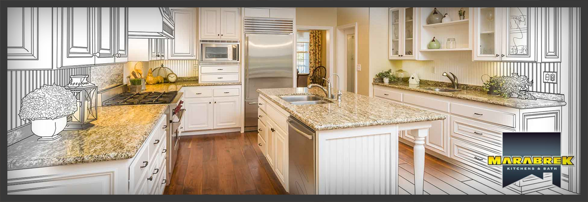 Marabrek Renovations Custom Home Kitchens Bathrooms Restoration Contractor Certified Master Craftsman Build Install New Cabinetry Cupboards Vanities Computerized Design Plans Manufacture Handcrafted Staircase Millwork Closet Organization